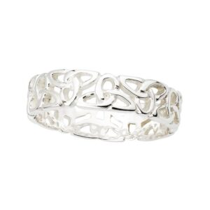 Irish Knot Ring Sterling Silver Made in Ireland