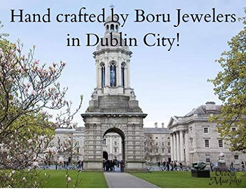 Celtic Warrior Necklace Silver & 18K Gold Bead Irish Made