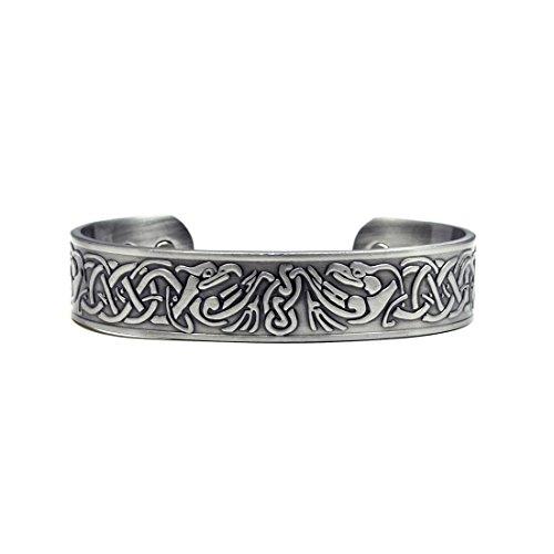 Accents Kingdom Phoenix Magnetic Therapy Celtic Copper Cuff Bracelet
