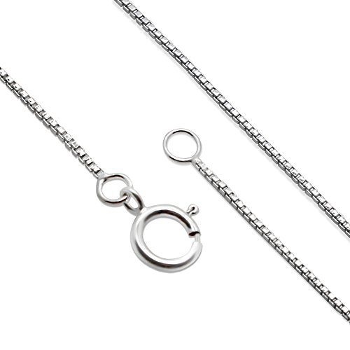 """925 Sterling Silver Celtic Knot Crescent Moon Pendant Necklace, 18"""""""