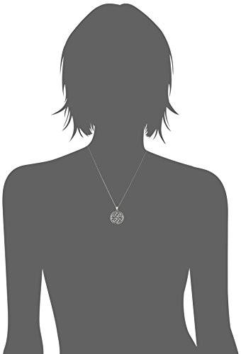 """Celtic Knot Pendant Necklace, 18"""""""