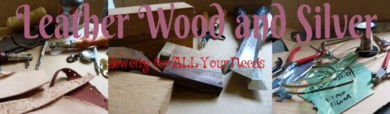 leather wood and silver header image